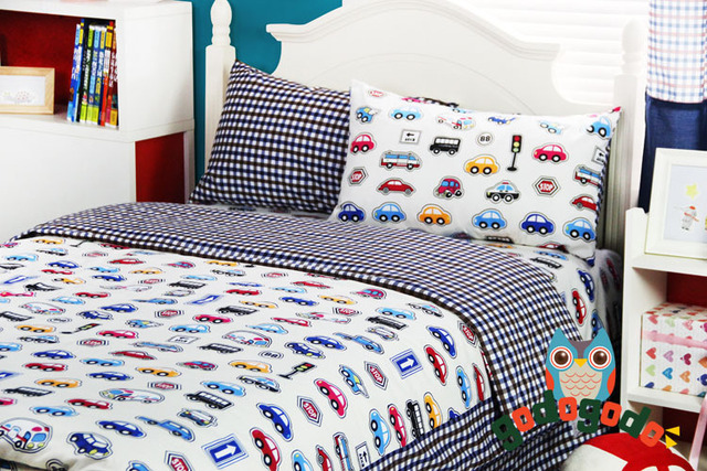 Cars Bedding Queen Size/kids Bed/bed Cover Set/sheets For