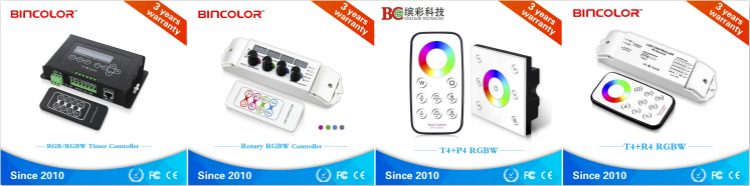 China Supplier BC-354 Rf Control 5A 4 Channels RGBW Led Light Controller