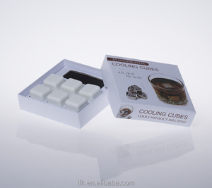 27*27mm Wine Cooler Stones Ceramic Ice Cubes Gift Set Dice Whiskey Stones