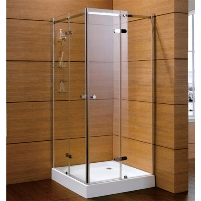Frameless Interior Nano Gass Hinge Shower Door