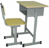2016 hot sale school furniture single student desk and chair