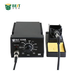 BEST-936B 110-240V/AC Factory Lead- free Anti-static Temperature Adjustable Hot Air Solder Iron Rework Station
