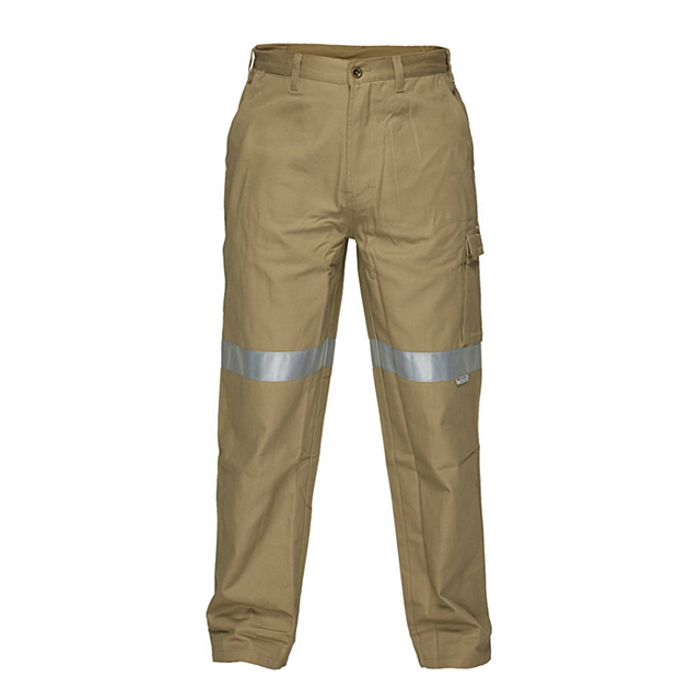 OEM China Men Multi-Pockets Functional Cargo Pants Fashion High-Quality Safety Pants HI-VIS Outdoor Work Pants Trousers
