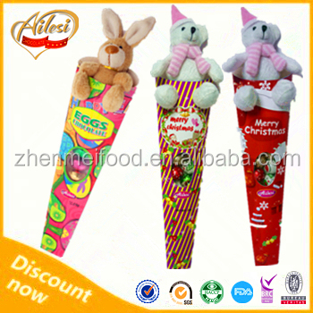 Chocolate Eggs or Choco Ball with Small Plush Toy Christmas Chocolate