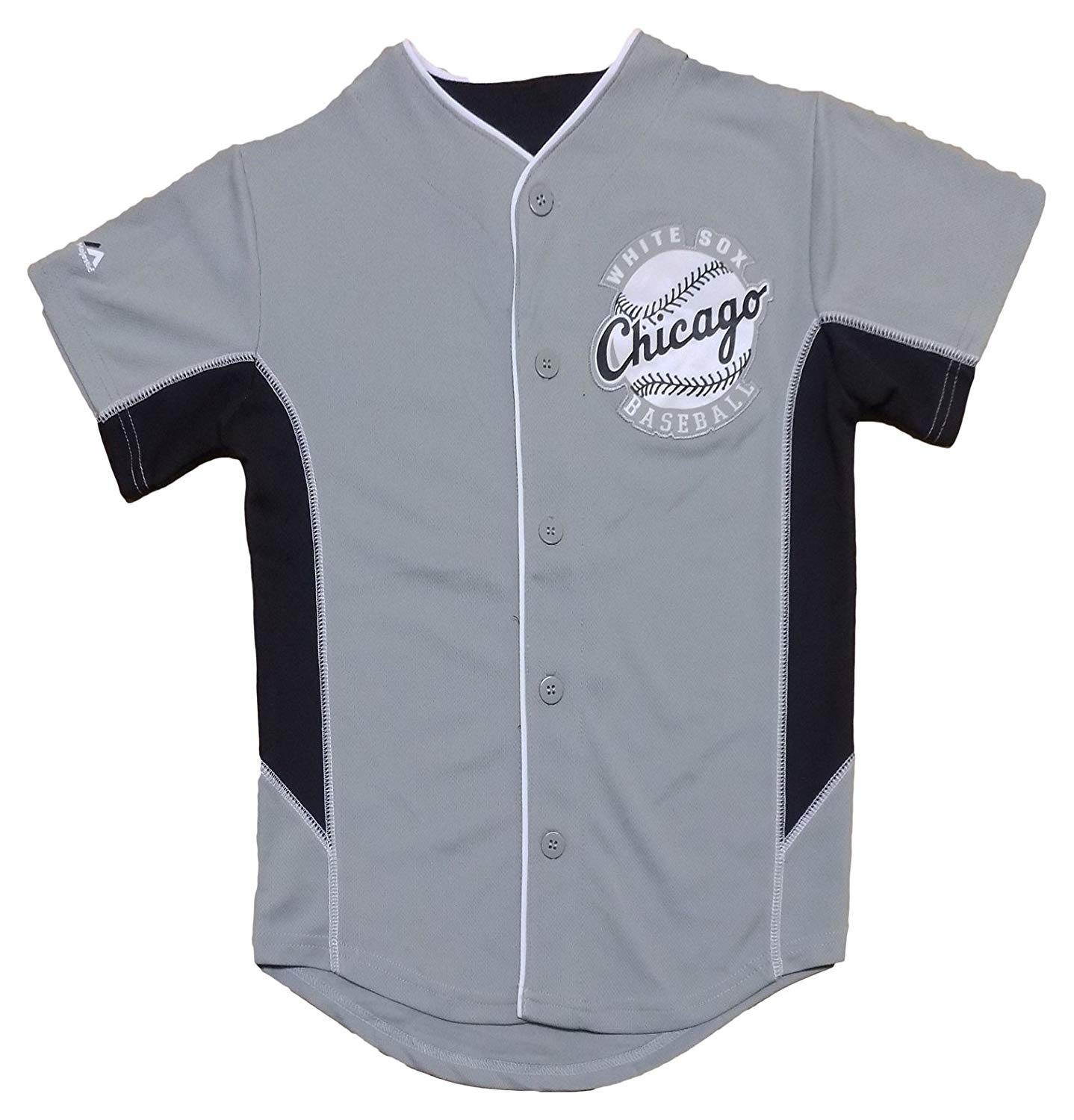Outerstuff Chicago White Sox Blank Gray Youth Team Leader Jersey