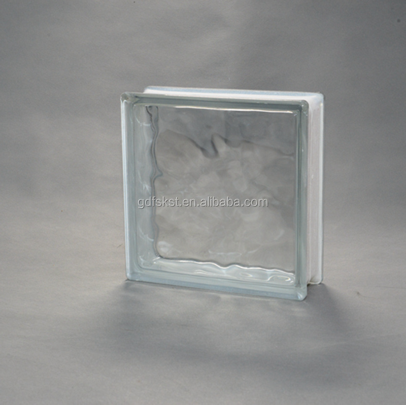 china supply decorative building glass block wall
