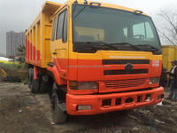 japan brand good condition 10 ton UD Dump truck Nissan