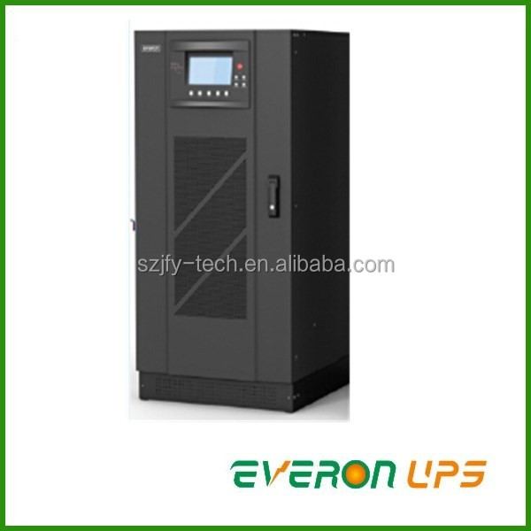 10kva double conversion online low frequency ups for industry automation protecion, LCD display +LED indicator