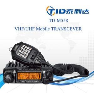Mobile vhf uhf scrambler 2/5 tone car two way radio 60km ctcss & dcs encode  / decode mobile transceiver