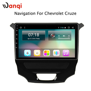 car dvd stereo radio android for Chevrolet Cruze 2017 gps navigation with steering wheel control wifi 4G software sd