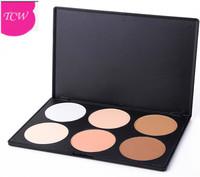 Professional 6 Colors Contour Face Powder Makeup Blush Palette