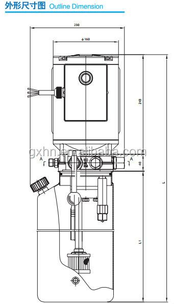 230v Ac 1ph Auto Hoist 2-post Lift With Kill Switch Power Up/gravity Down -  Buy Hydraulic Power Units,China Hydraulic Power Unit,Hydraulic Press Power