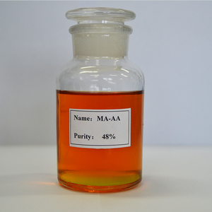Copolymer of Maleic and Acrylic Acid corrosion inhibitor use for salt water treatment system