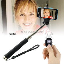 2014 the most popular wholesale selfie monopod bluetooth