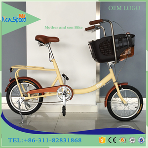 2017 best selling bike 16 inch / fashion kidsbike on sale / two seat Bicycle can carry children and pets