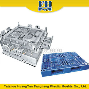 china plastic pallet injection mould/injection mould pallet making