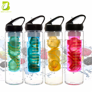 No minimum order of Portable Fruit Infuser Water Bottle / Lemon Squeezer bottle Juicer for Healthy Drink