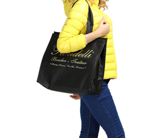 new big capacity food milk fresh warm carrier ice pack cooler insulation cool black large insulated shopping tote bag
