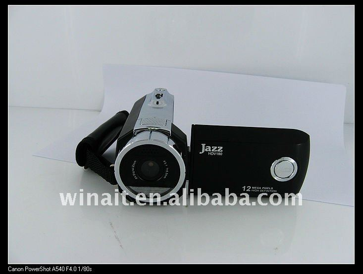 "Digitial video camcorder with 2.4"" TFT LCD and TV out"
