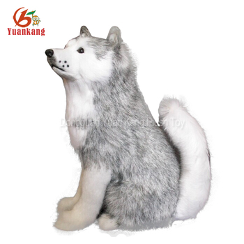 Custom Black And White Brown Red Plush Puppies Doll Life Size Peluche Dog Toy Stuffed Animal Plush Husky For Sale Buy Husky Plush Husky Husky Plush