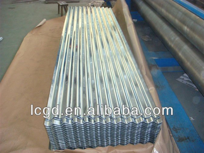 zinc and aluminum alloy coated steel Corrugated sheets