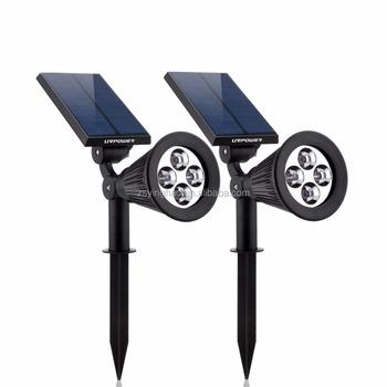 200 Lumen Solar Spotlight Solar Garden Lights For Park,garden And Yard