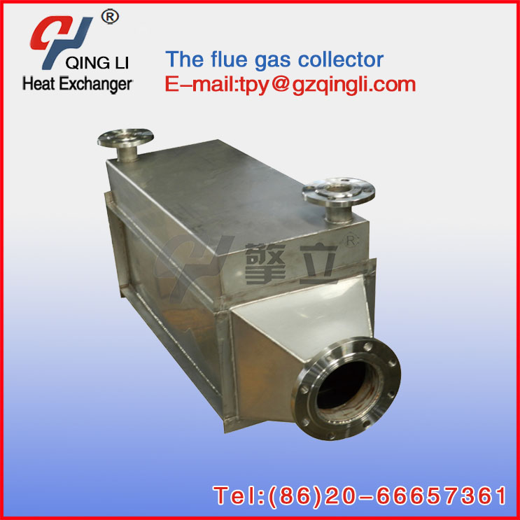 Waste gas and water Energy Recycing boiler heat exchanger