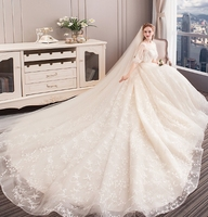 2019 romantic french style exquisite wedding dress bridal gown