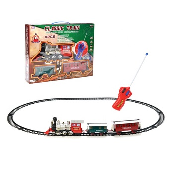 CE approved remote control wholesale electric toy train set