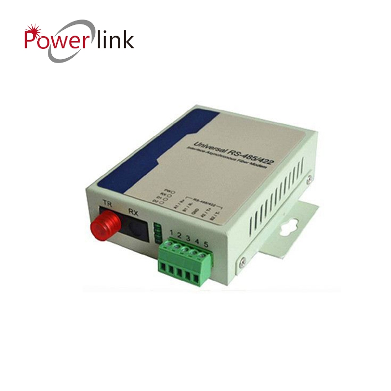 Communication Equipments 1pair Rs485/422 To Optic Fiber Modem Singlemode Sc 20km Rs485/422 To Ethernet Fiber Converter