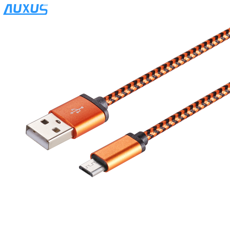 High Speed Charging Data Cable Nylon Braided Aluminum Usb Type C Cable for Android.jpg