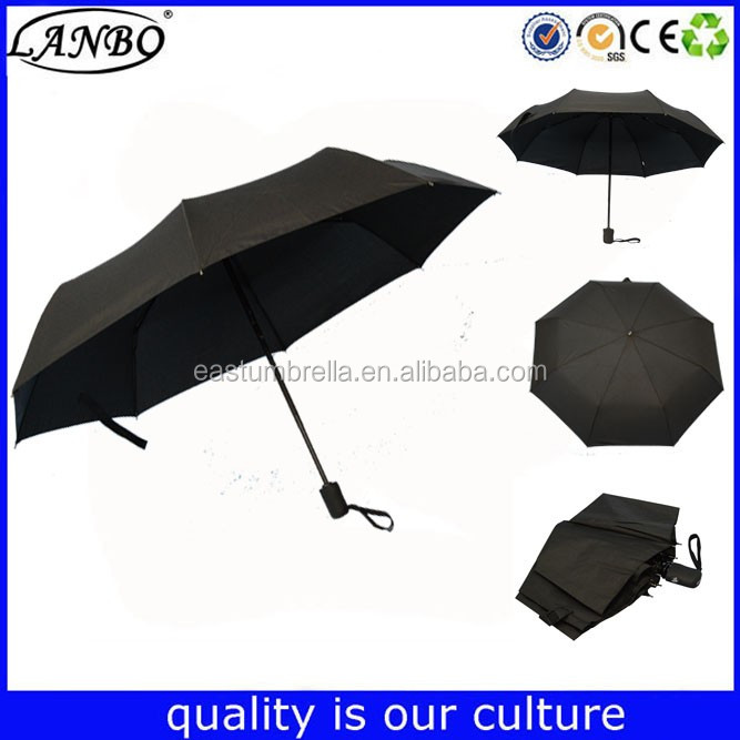 Super strong Three Fold Manually Umbrellas rain umbrella frame cover umbrella
