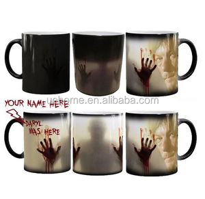 UCHOME heat sensitive magic mug Doctor Who Heat Changing Magic Skeleton Mug