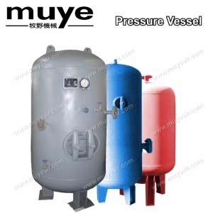 Air Compressor tank serve to dampen reciprocating compressor pulsations model 0.6/1.3