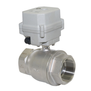 Tonheflow New product A150-T50-S2-B 2 inch DN50 NSF DC12v DC24v CR501 motorized ball valve