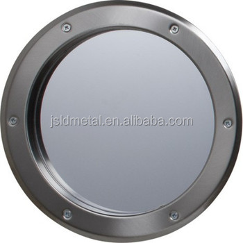 Circular Metal Vision Frame Porthole& Round Glass View Panel,Face ...
