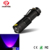 Mini Pet Detector 395nm UV LED flashlight with 18650 battery