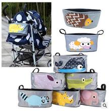 Wholesale cartoon trendy baby diper bag stroller Hanging baby bag for mothers