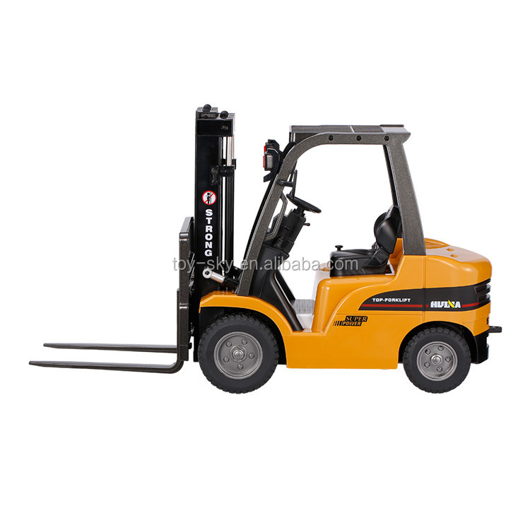 HUINA 1577 2.4G 1:10 Alloy RC Forklift Crane Truck 8CH