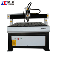 9015 CNC Machine For Engraving And Cutting 3.2Kw 900*1500mm ZK-9015
