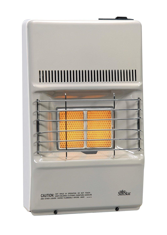SunStar SC10M-1-NG 9,500 BTU Vent Free Natural Gas Room Heater
