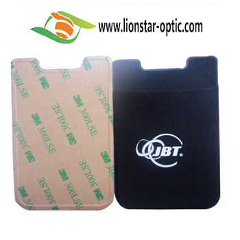 March Promotional 10% off 3M Sticky Lycra Card Holder Mobile Phone Pocket, Smart Card Wallet, Mobile Phone Card Set