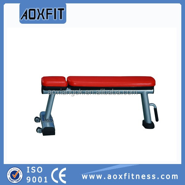 Gym Bench Machine Cym Sports <strong>Equipment</strong> AX9843 Falt Bench for Exercrise