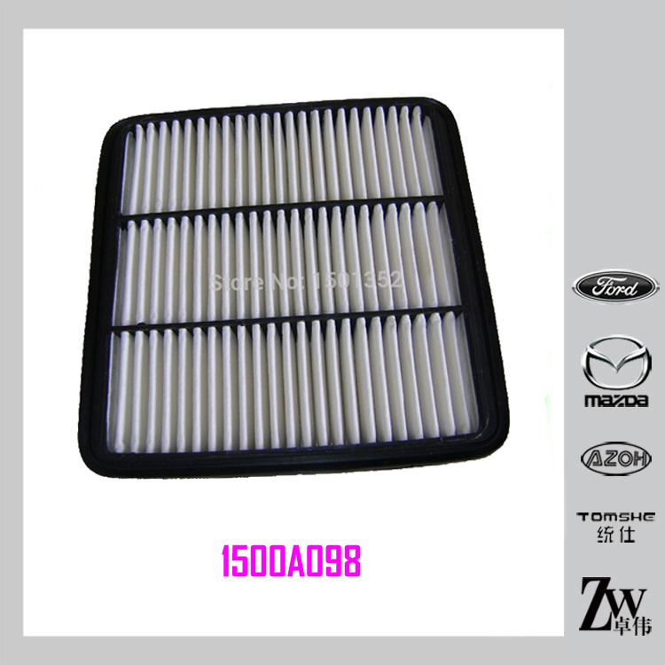Super quality Auto Non-woven fabric Air filter 1500A098 for D-MAX mitsubishi L200