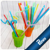 Certification approved artistic drinking straw for party use