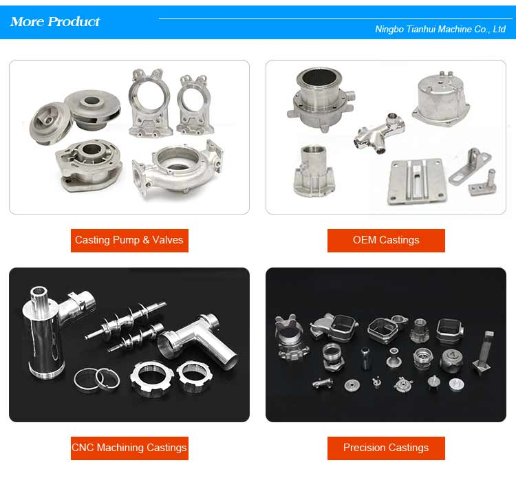 OEM Factory of Stainless Steel Meat Grinder Parts