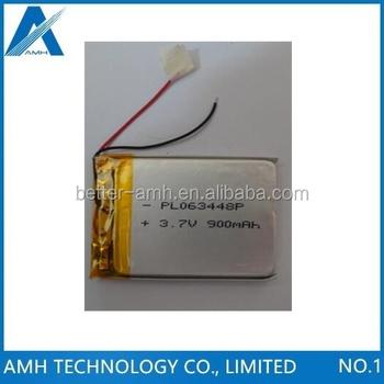 37v 900mah Battery 063448 603448 For Li Polymer Rechargeable