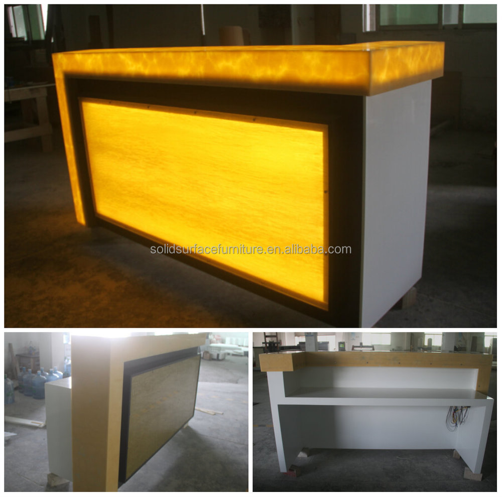 Fashinable Modern Cash Counter Table Design For Restaurant