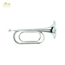 Oro ottone eb <span class=keywords><strong>mini</strong></span> bugle <span class=keywords><strong>tromba</strong></span> professionale