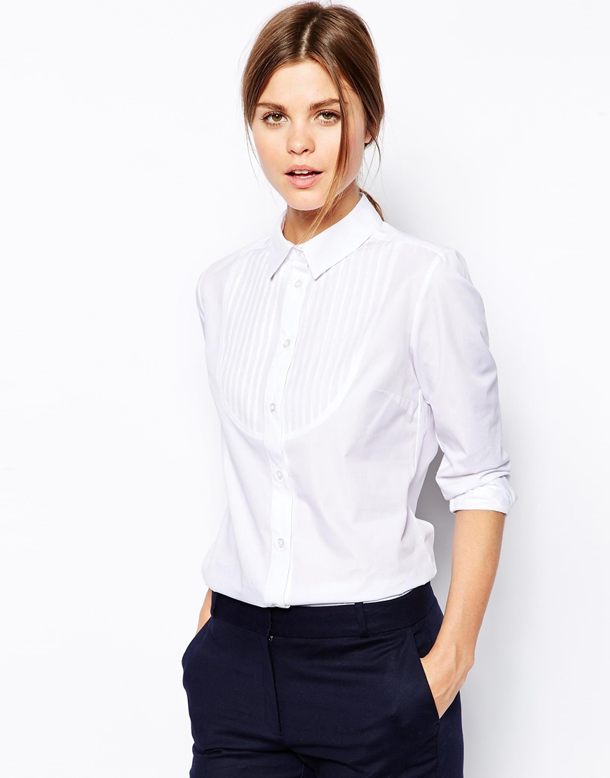 2016 New arrival women classic white shirt ladies office wear shirt formal shirt for women
